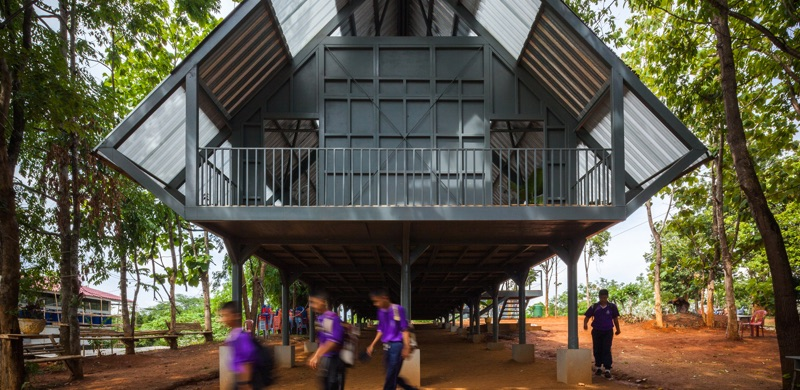 Earthquake Thailand Disaster Relief Architecture