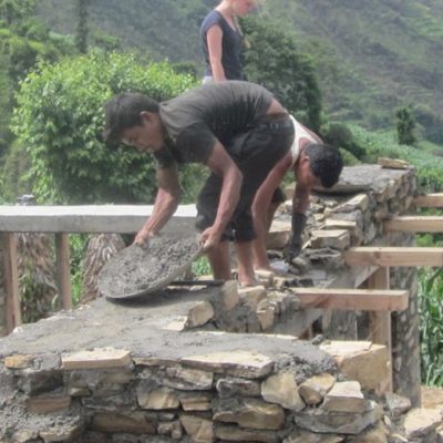 Nepal Construction Volunteering