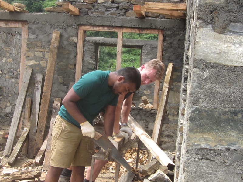 Build Abroad School Construction
