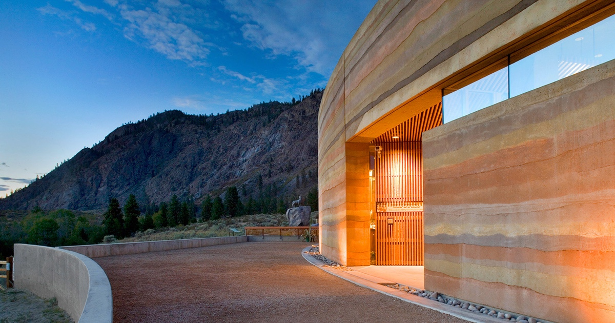 The Resurgence of Rammed Earth in Modern Construction on compressed earth block homes, modern earth sheltered homes, earth cement floors in homes, modern ranch style house designs, earth natural built homes, modern home design,