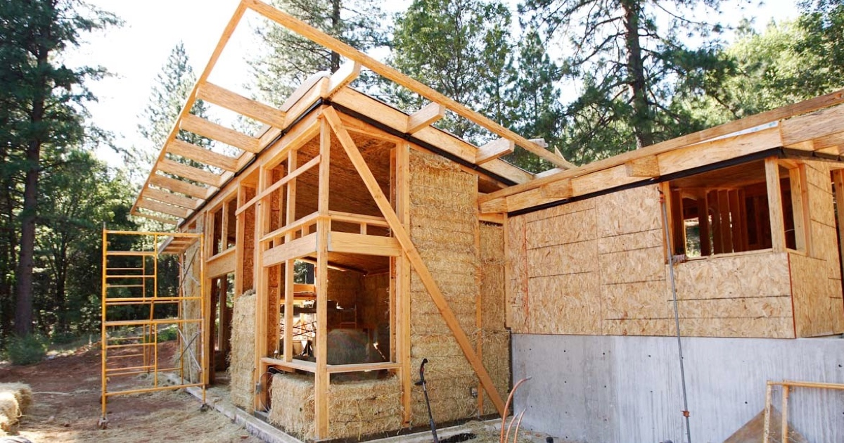 Straw Bale Construction A Sustainable And Renewable