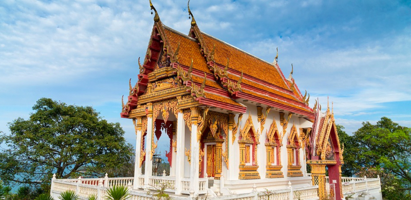 An introduction to thai architecture build abroad for Thailand architecture